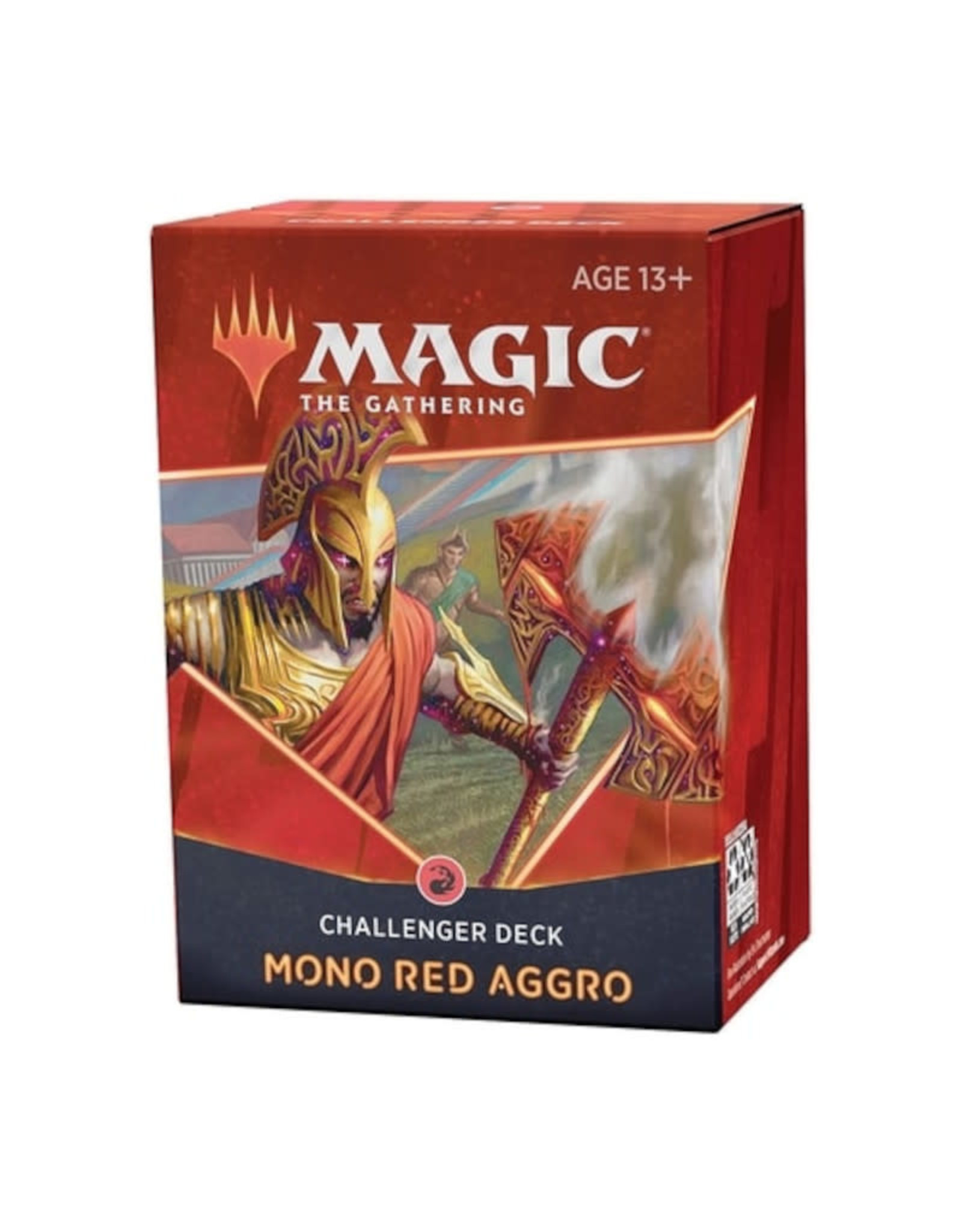 Wizards of the Coast MTG Challenger Deck 2021 Mono Red Aggro