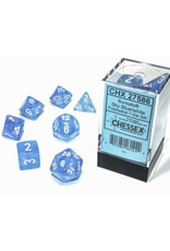Chessex Polyhedral Dice Set: Borealis Sky Blue (7)