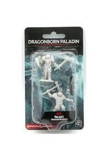 Wizkids D&D Unpainted Minis: Dragonborn Paladin Male