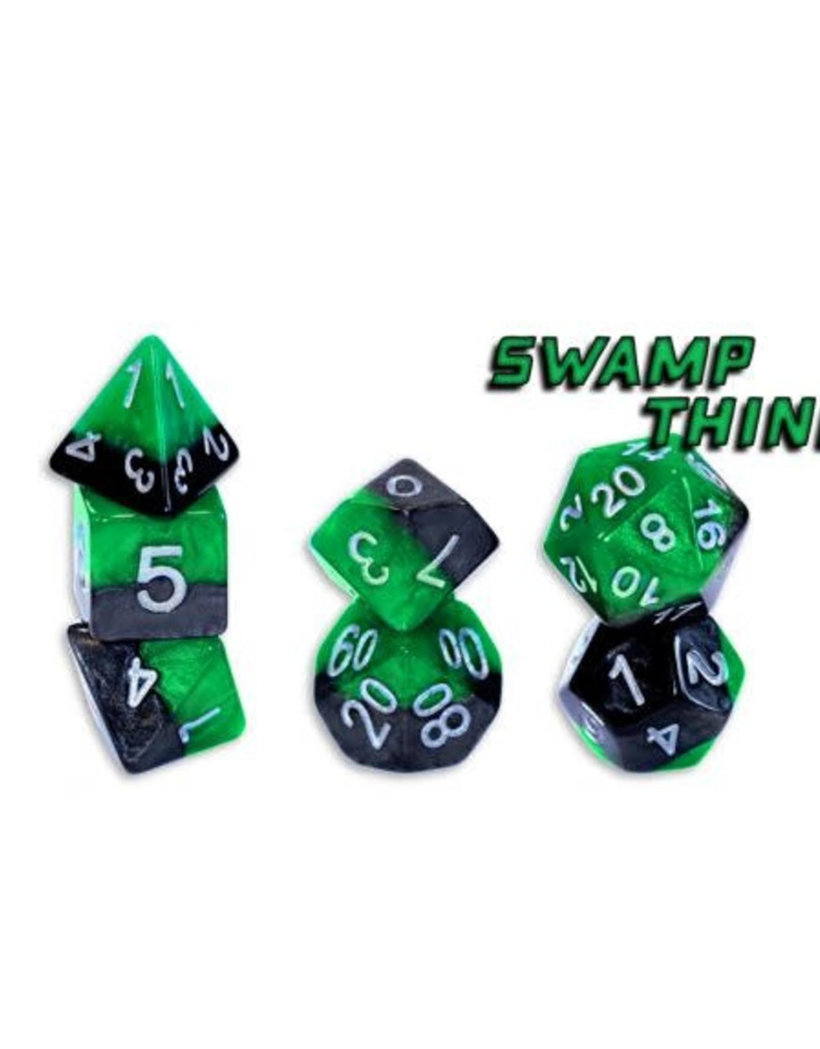 Gate Keeper Games Gatekeeper Dice Set: Swamp Thing (7)