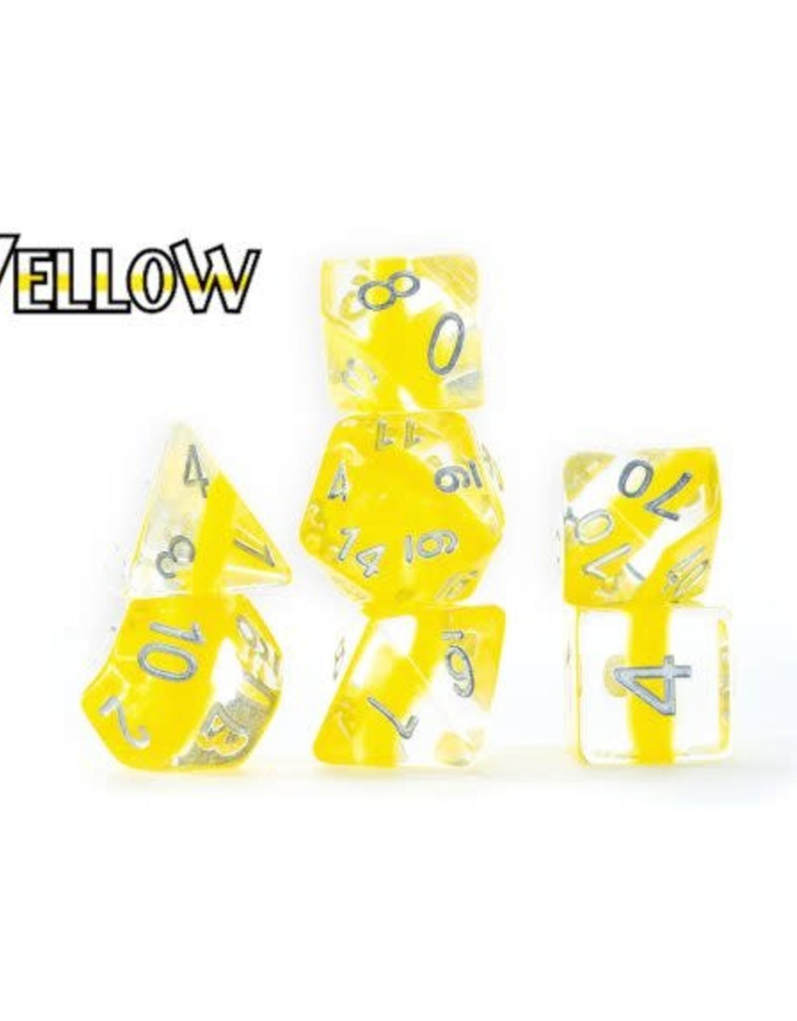 Gate Keeper Games Gatekeeper Dice Set: Yellow (7)