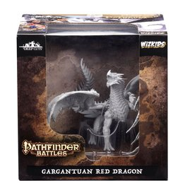 Wizkids Deep Cuts Unpainted Minis: Gargantuan Red Dragon
