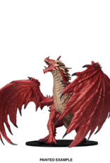 Wizkids Deep Cuts Unpainted Minis: Gargantuan Red Dragon