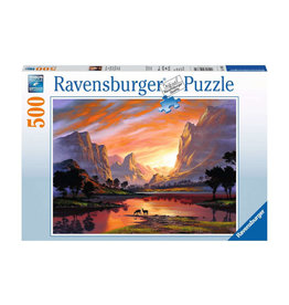 Ravensburger Tranquil Sunset 500 PCS