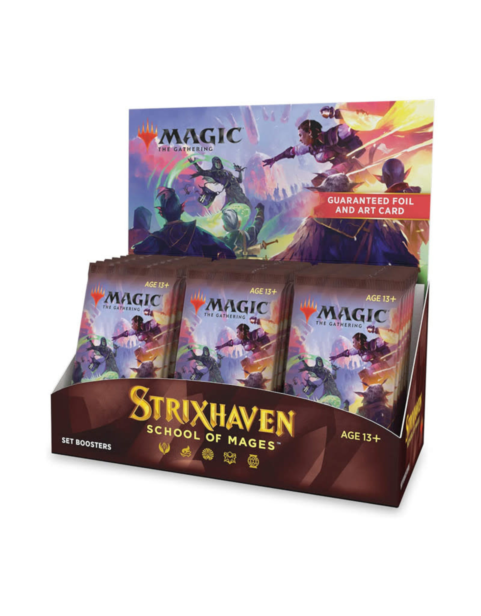 Wizards of the Coast MTG Strixhaven Set Booster (30) Display Box