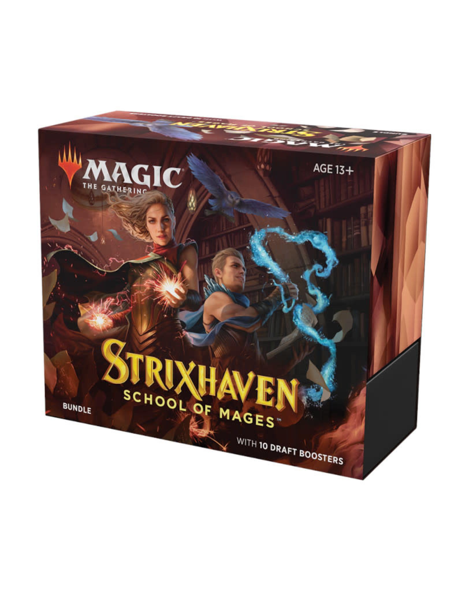 Wizards of the Coast MTG Strixhaven Bundle