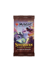 Wizards of the Coast MTG Set Booster Pack: Strixhaven