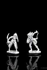 Wizkids D&D Unpainted Minis: Tiefling Rogue Female