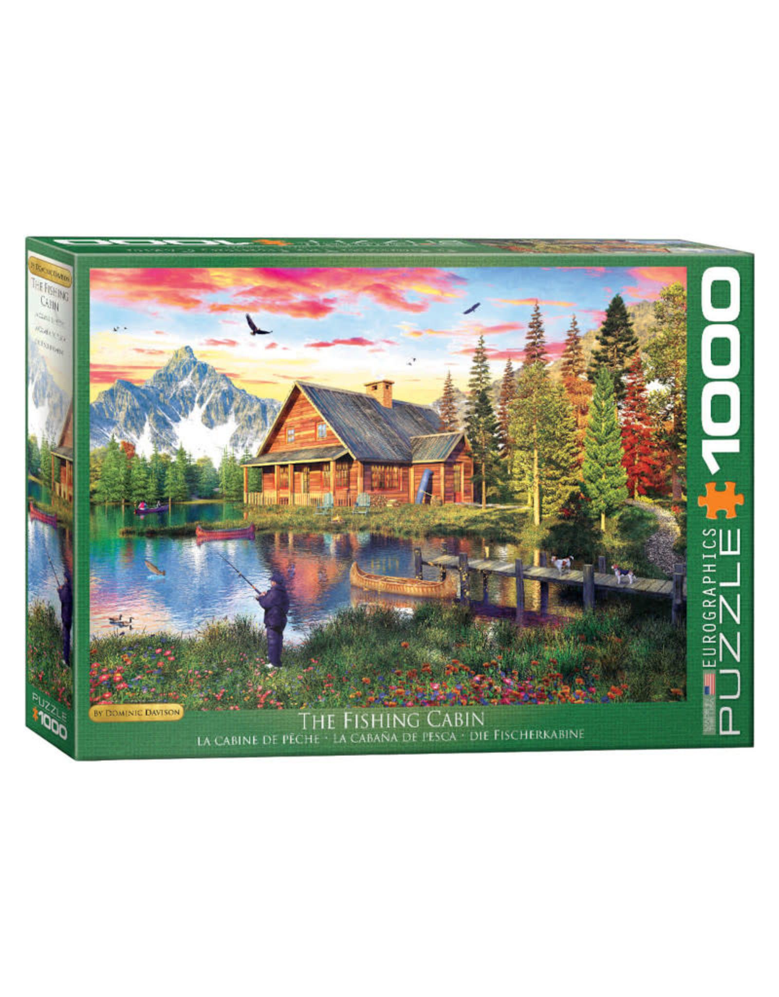 Eurographics Fishing Cabin Puzzle 1000 PCS