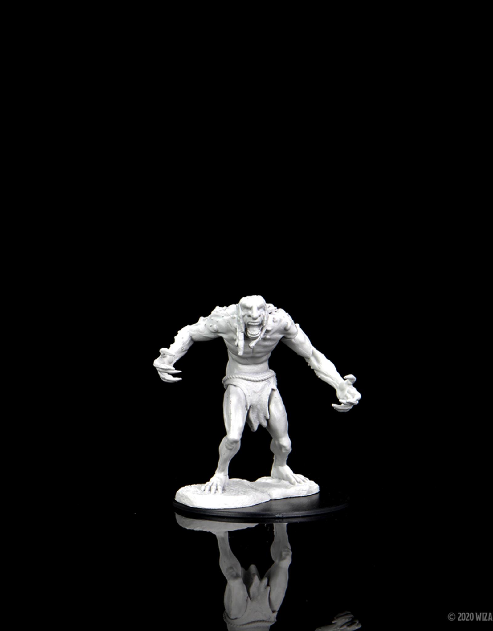 Wizkids D&D Unpainted Minis: Raging Troll