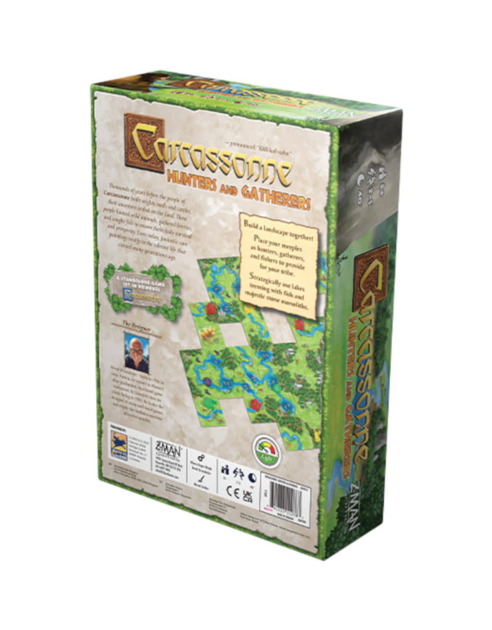 Z-Man Games Carcassonne Hunters and Gatherers