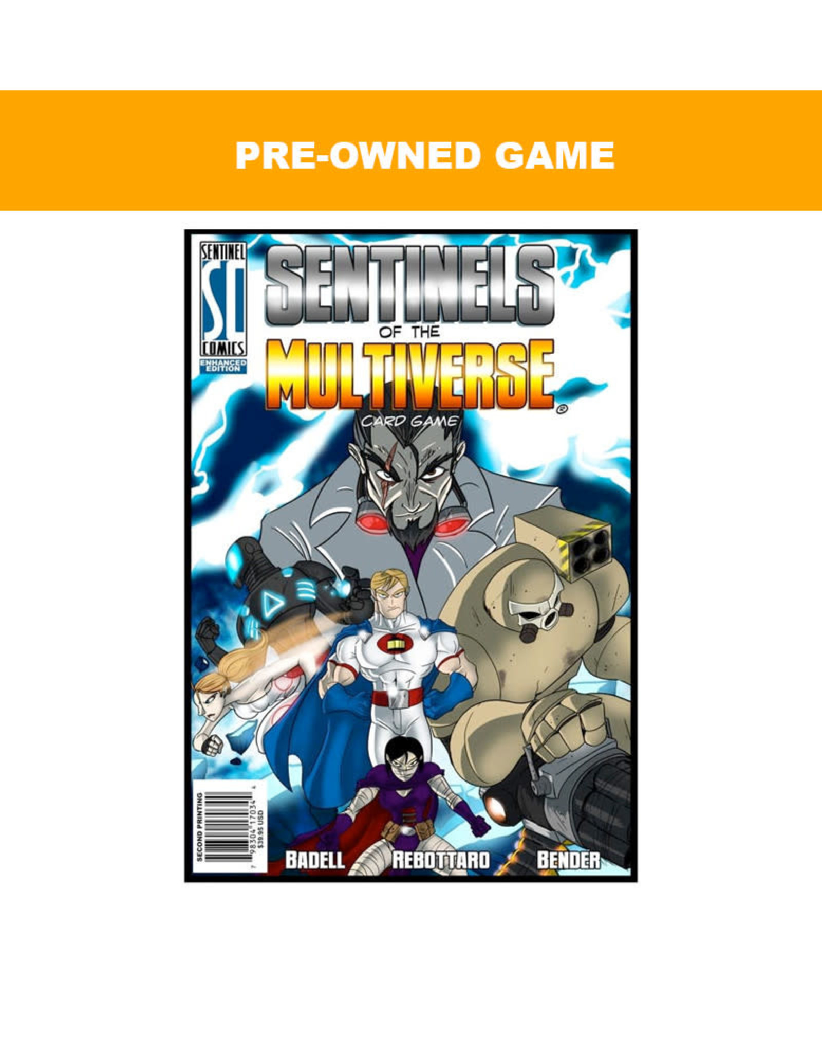 Game Night Games (Pre-Owned Game) Sentinels of the Multiverse