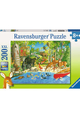 Ravensburger Woodland  Friends Puzzle 200 PCS XL
