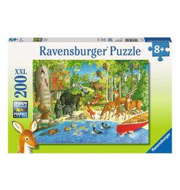 Ravensburger Woodland  Friends Puzzle 200 PCS XL