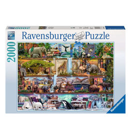 Ravensburger Wild Kingdom Shelves 2000 PCS