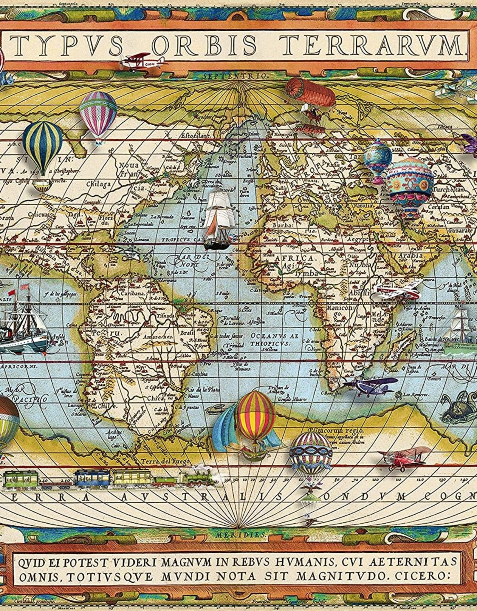 Ravensburger Around the World Puzzle 2000 PCS