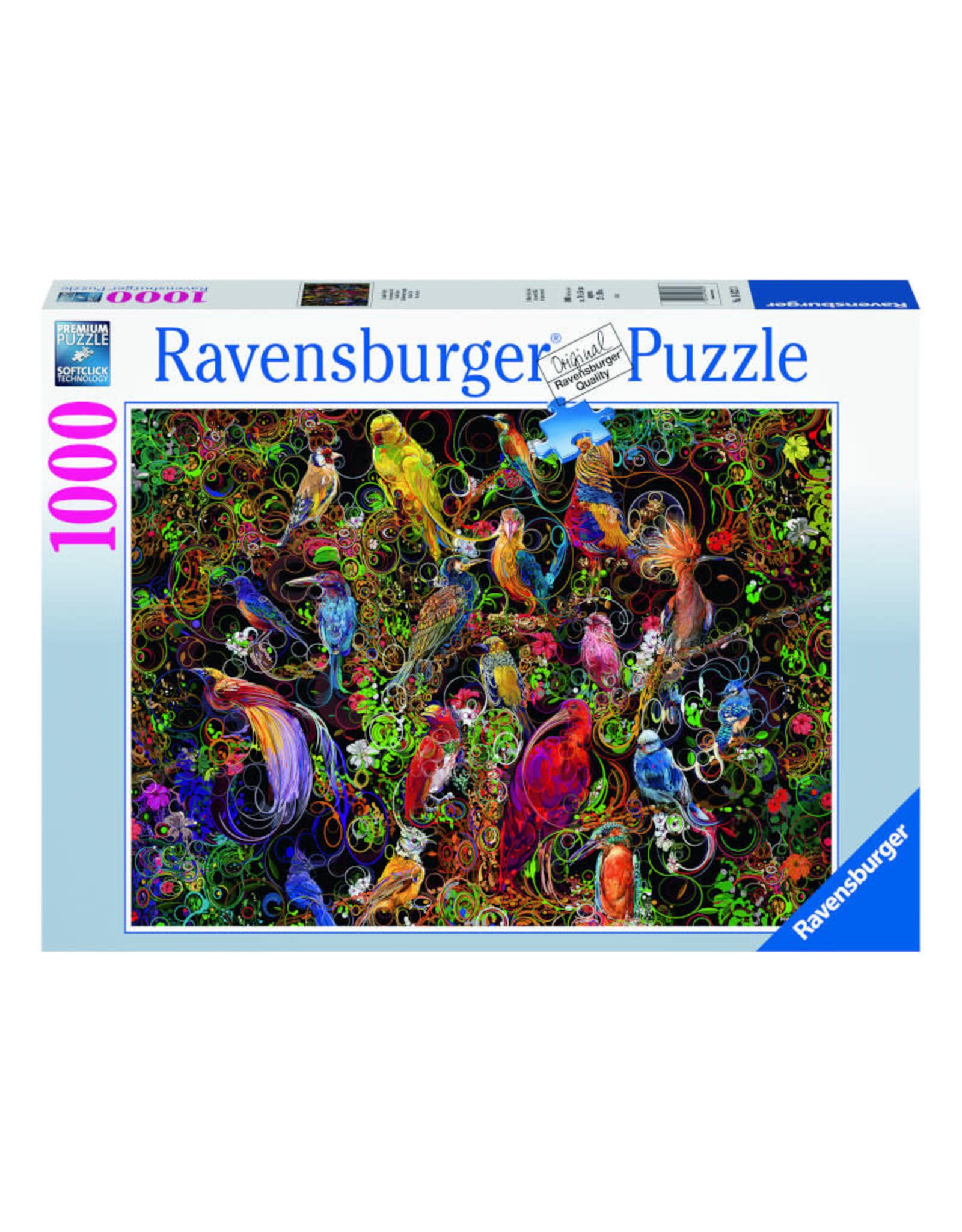 Ravensburger Birds of Art Puzzle 1000 PCS