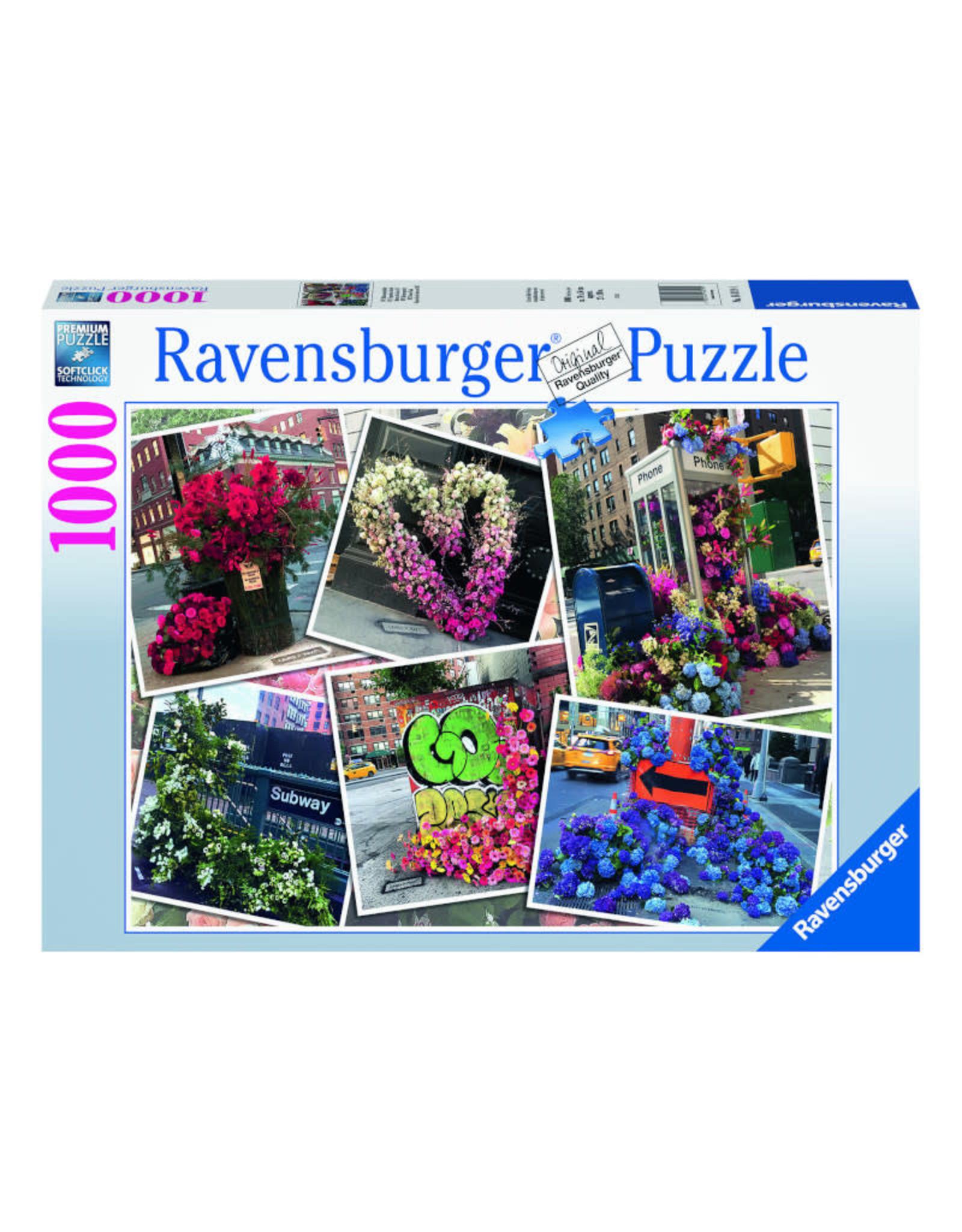 Ravensburger NYC Flower Flash Puzzle 1000 PCS
