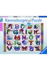 Ravensburger Dragon Alphabet Puzzle 1000 PCS