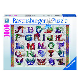 Ravensburger Dragon Alphabet Puzzle 1000 PCS
