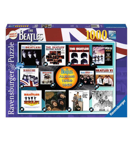Ravensburger Beatles Albums 1964-66 Puzzle 1000 PCS