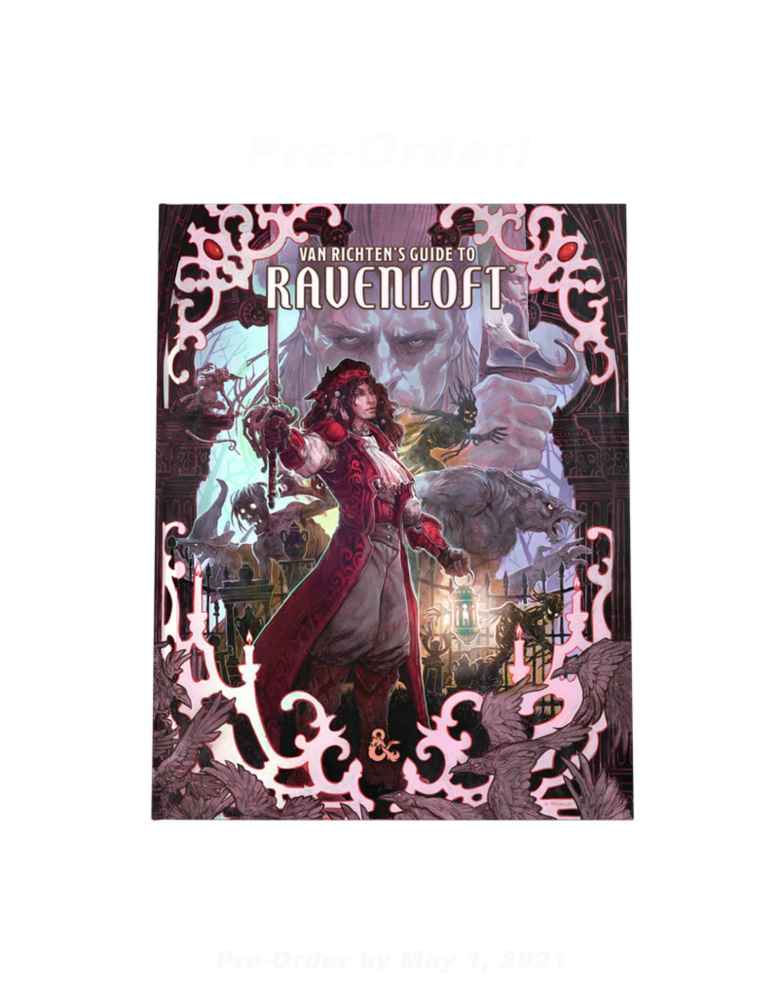 Wizards of the Coast D&D RPG: Van Richten's Guide to Ravenloft Alternate Art Cover (Pre-Order)