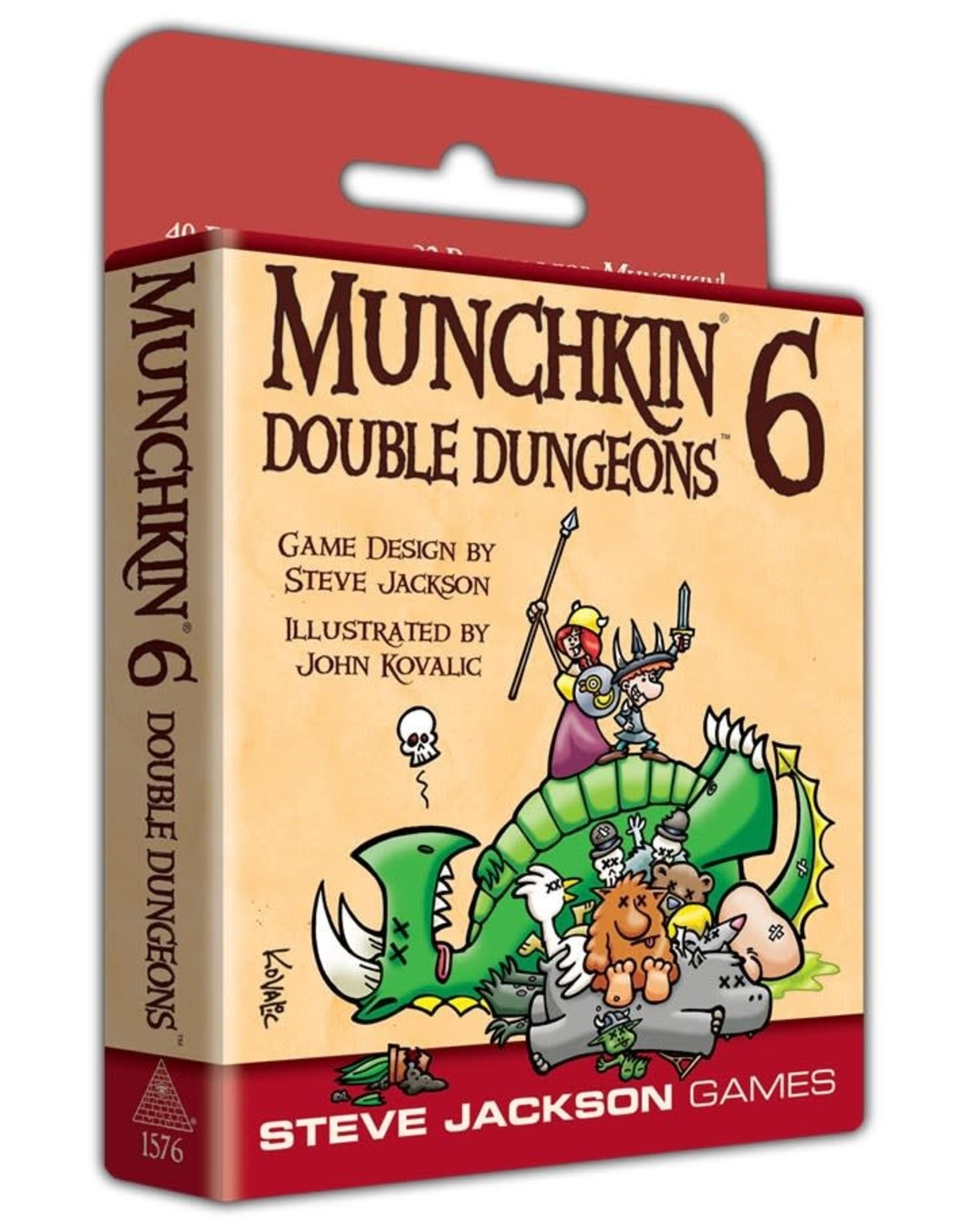 Steve Jackson Games Munchkin 6 Double Dungeons