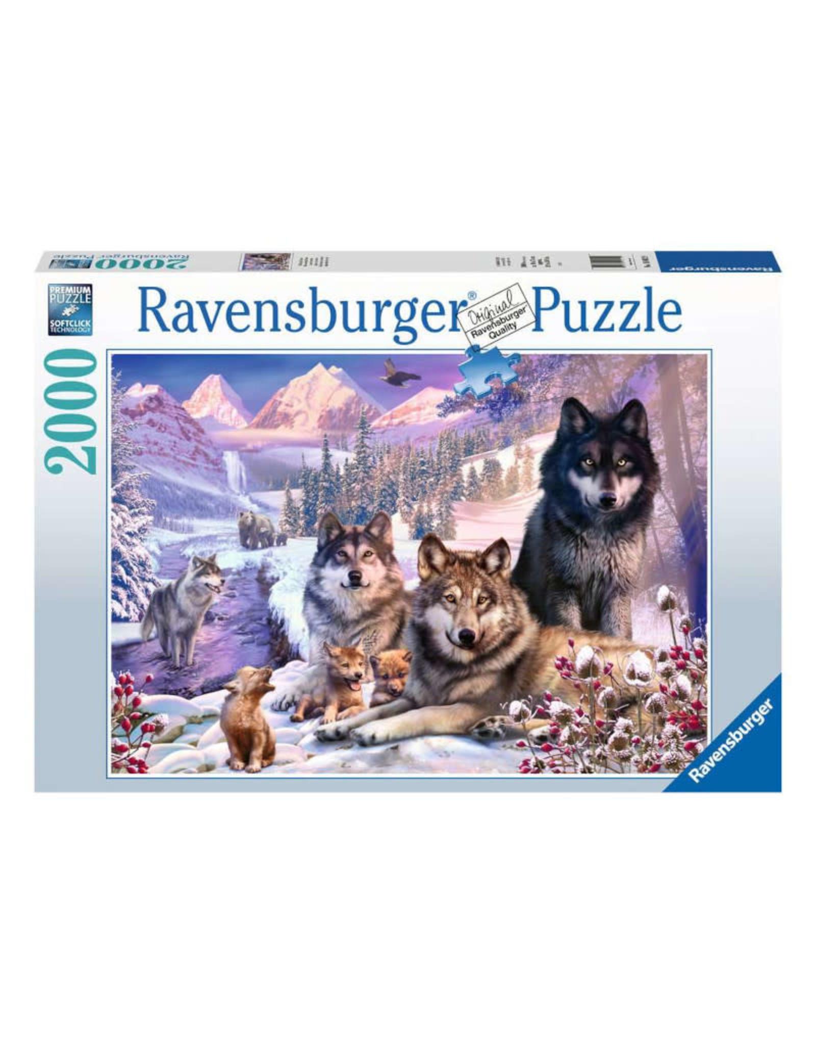 Ravensburger Winter Wolves Puzzle 2000 PCS