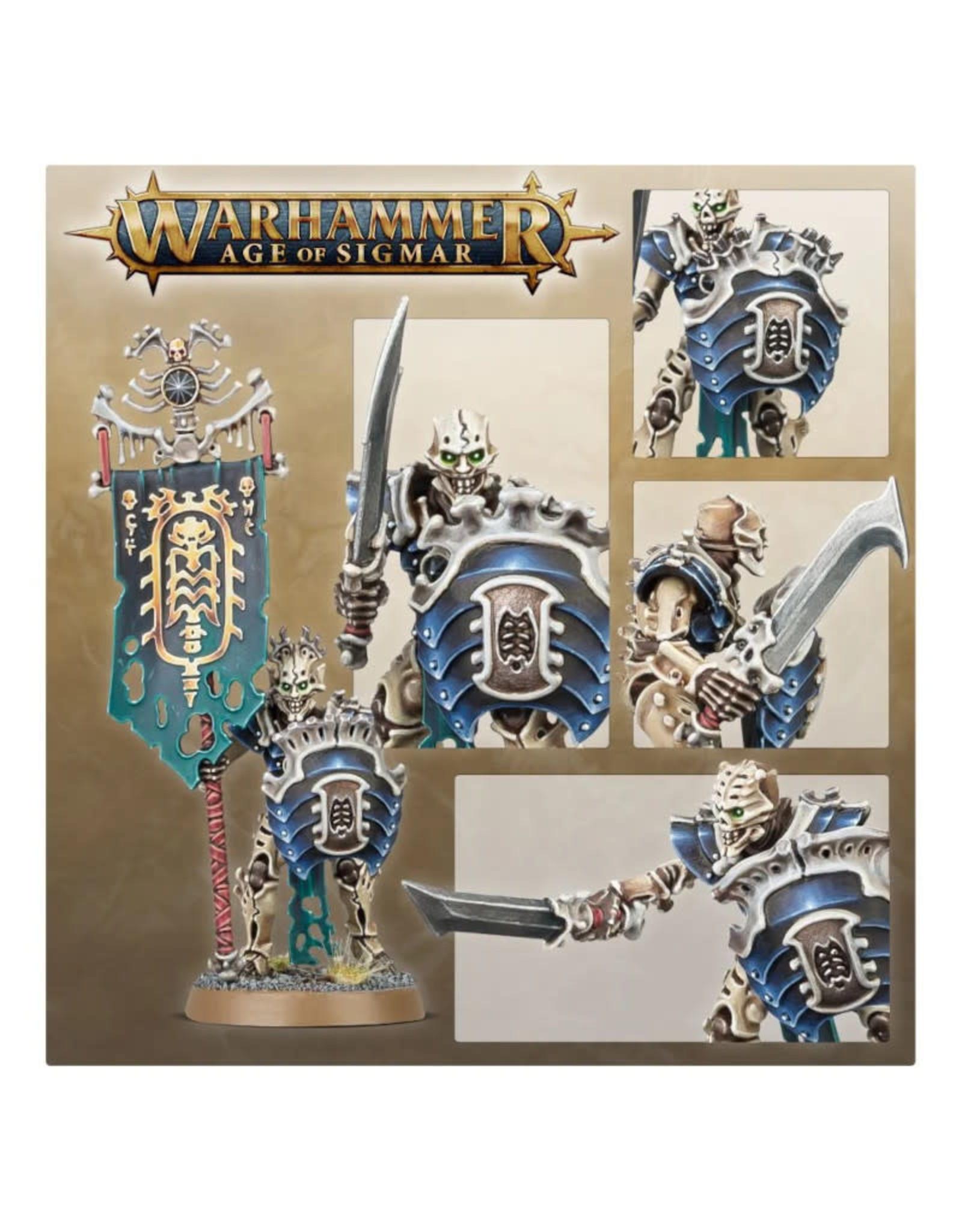 Games Workshop Warhammer Age of Sigmar: Mortek Guard
