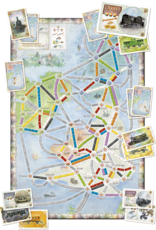 Ticket to Ride Expansion 5 United Kingdom and Pennsylvania