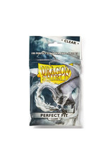 Arcane Tinmen Perfect Fit Sleeves: Dragon Shield (100) Clear