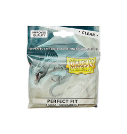 Arcane Tinmen Perfect Fit Sleeves: Dragon Shield Side-Loading (100) Clear