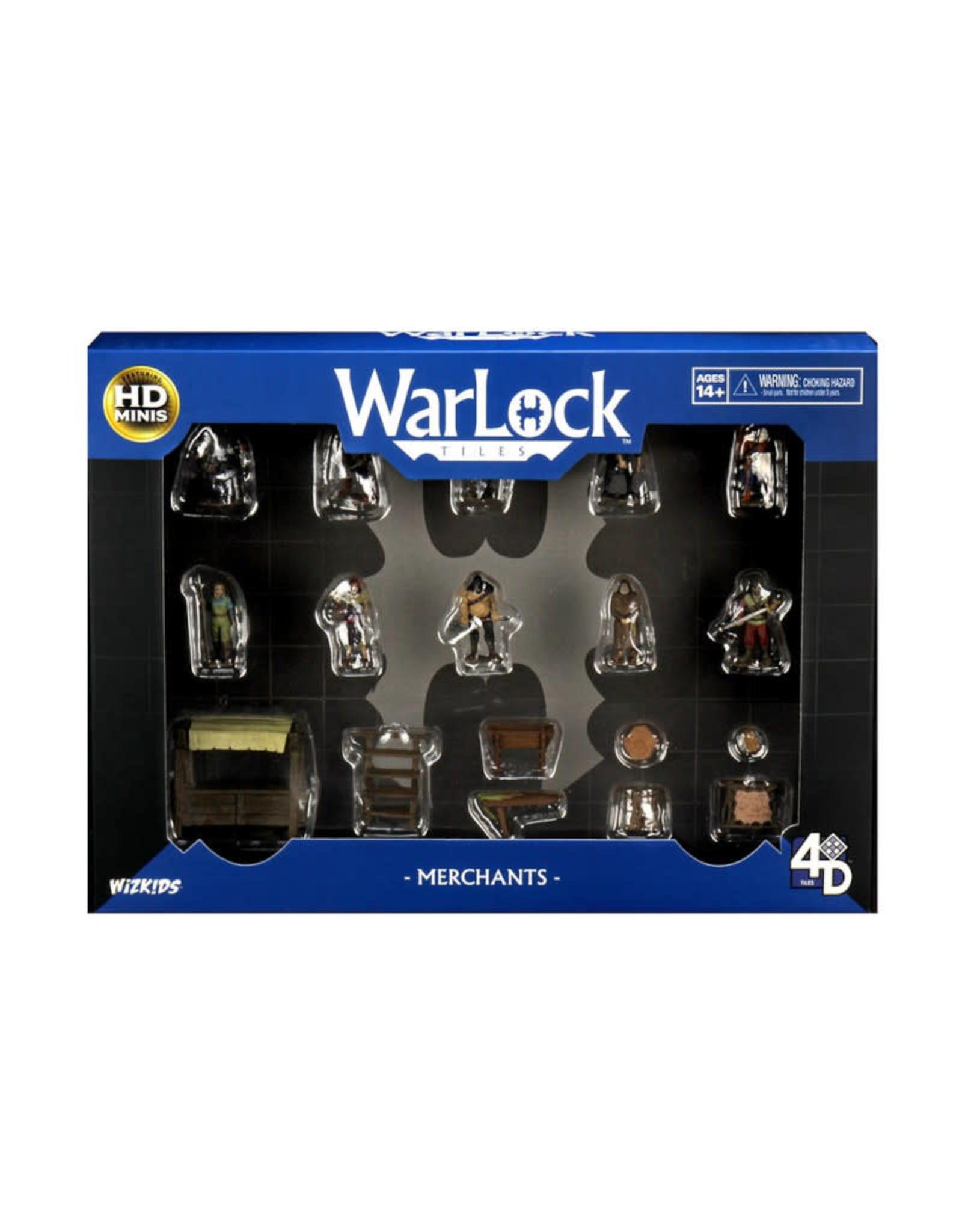 Wizkids WarLock Tiles Merchants