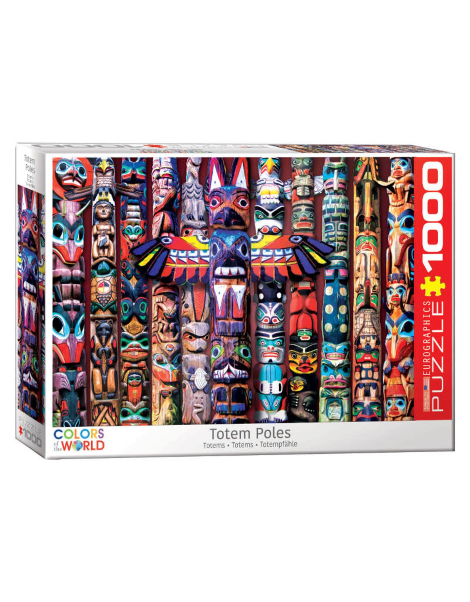 Eurographics Canadian Totem Poles Puzzle 1000 PCS