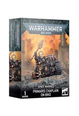 Games Workshop Warhammer 40K Primaris Chaplain on Bike