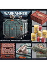 Games Workshop Warhammer 40K Munitorium Armoured Containers