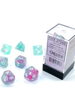 Chessex Polyhedral Dice Set: Luminary Westeria/White (7)