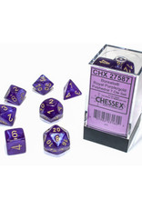 Chessex Polyhedral Dice Set: Luminary Royal Purple (7)