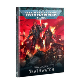 Games Workshop Warhammer 40K Codex Supplement: Deathwatch