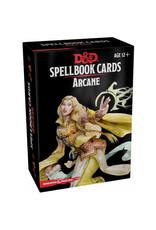 Gale Force 9 D&D RPG: Spellbook Cards Arcane
