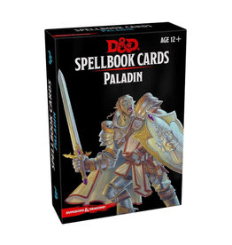 Gale Force 9 D&D RPG: Spellbook Cards Paladin