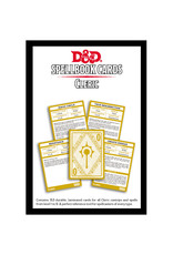 Gale Force 9 D&D RPG: Spellbook Cards Cleric
