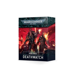 Games Workshop Warhammer 40K Datacards Deathwatch