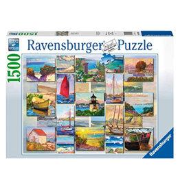 Ravensburger Coastal Collage Puzzle 1500 PCS