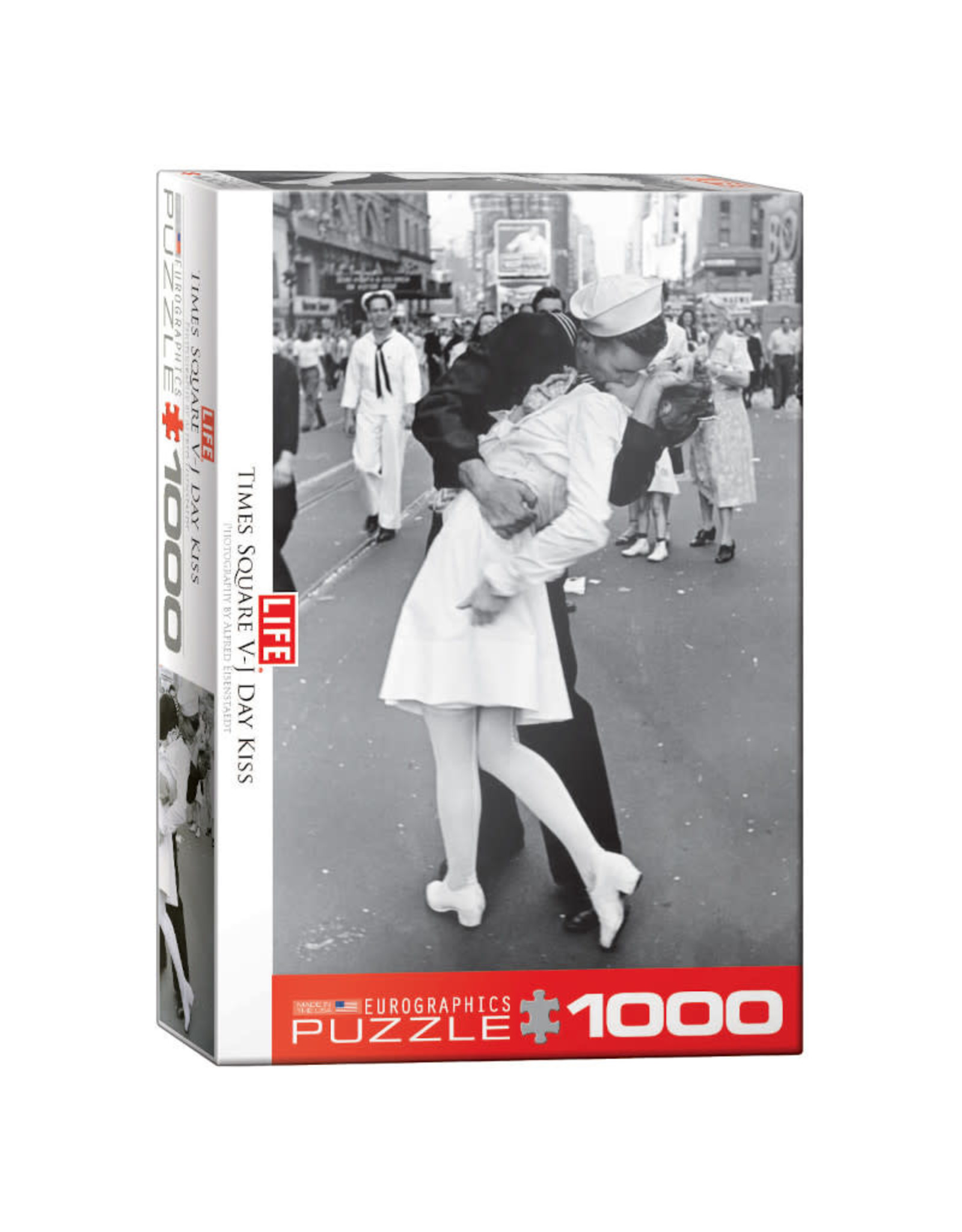 Eurographics Life V-J Day Kiss in Time Puzzle 1000 PCS