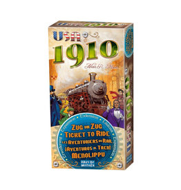Ticket to Ride USA 1910 Expansion