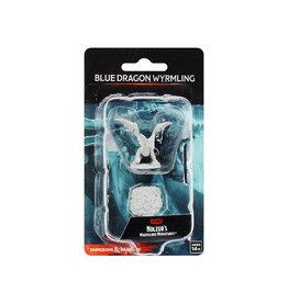Wizkids D&D Unpainted Minis: Blue Dragon Wyrmling