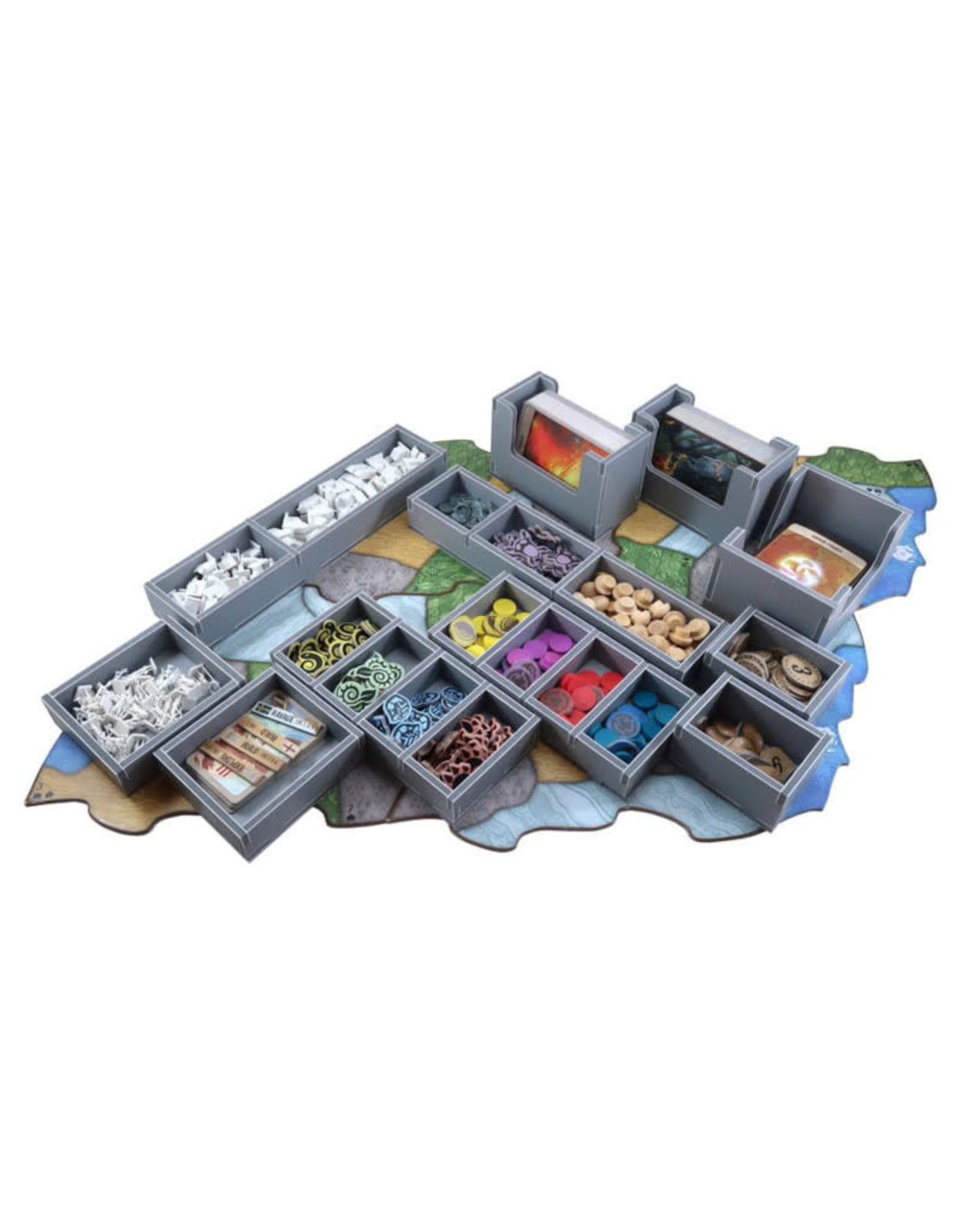 Folded Space Box Insert: Spirit Island or Jagged Earth