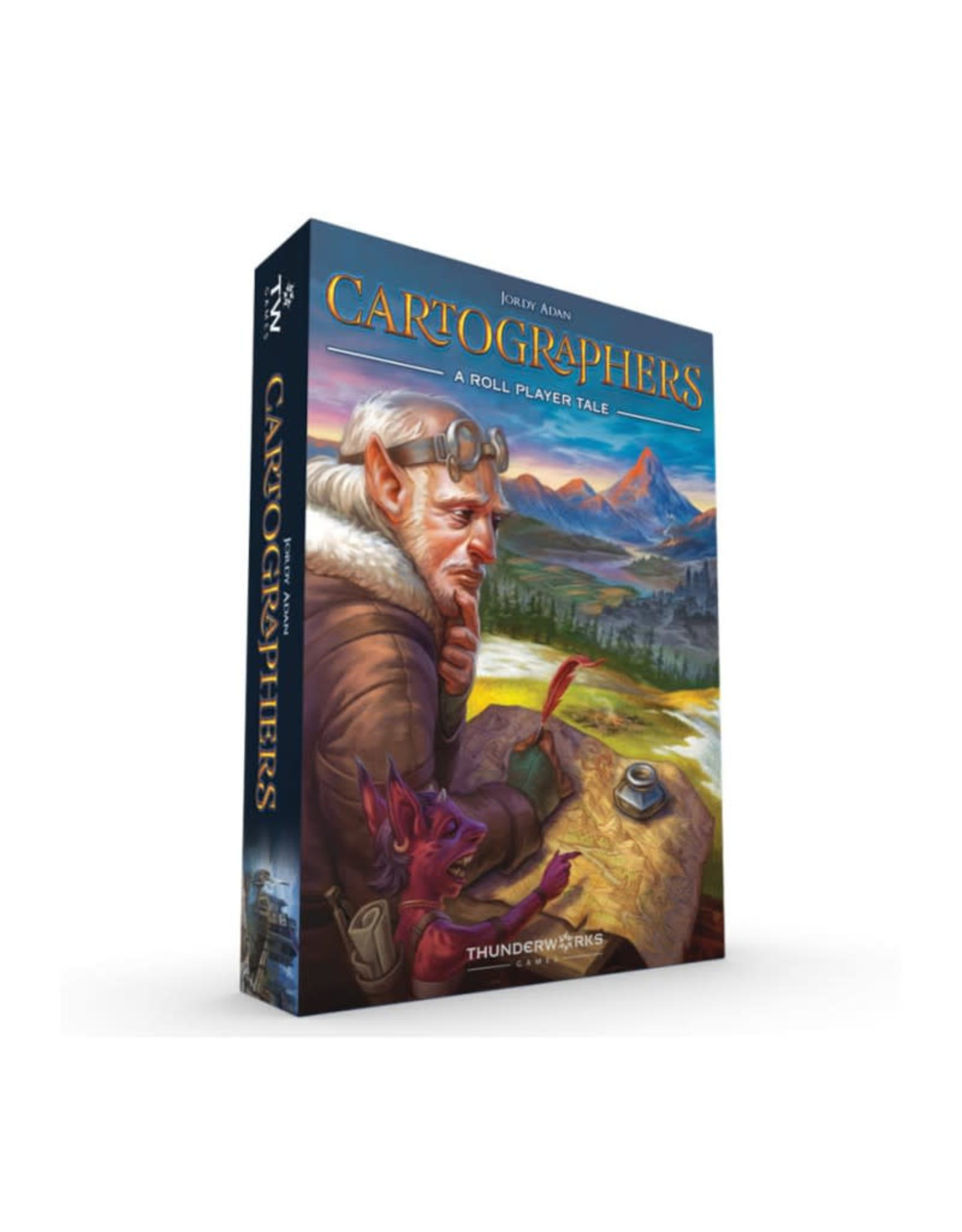 Thunderworks Games Cartographers: A Roll Player Tale