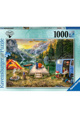 Ravensburger Calm Campsite Puzzle 1000 PCS